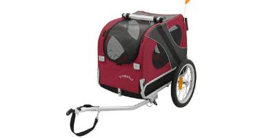 carro de perro para bicicleta